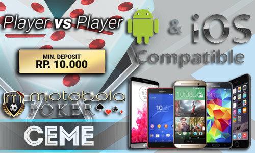 Portal Judi Ceme Deposit 10 Ribu Via Handphone